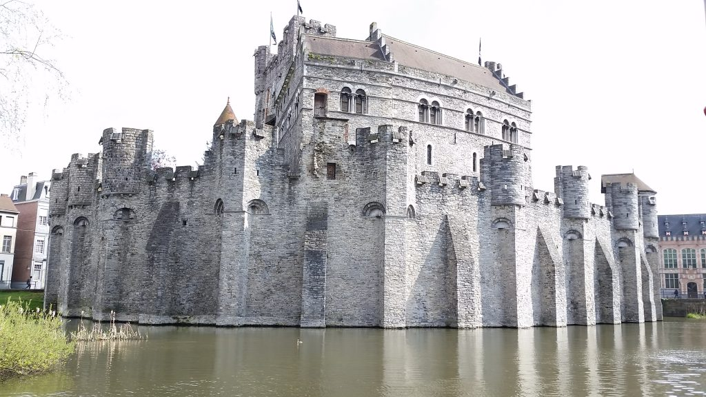 Castle in Gent